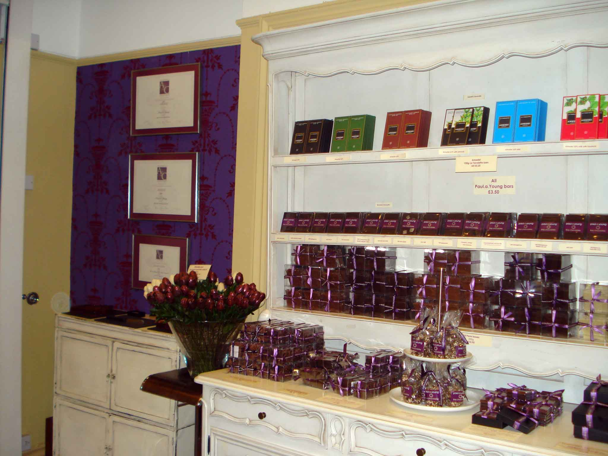 Another Chocolate Shop ...